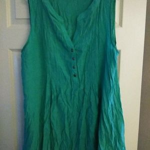 Teal Colored Tank Top by Avenue